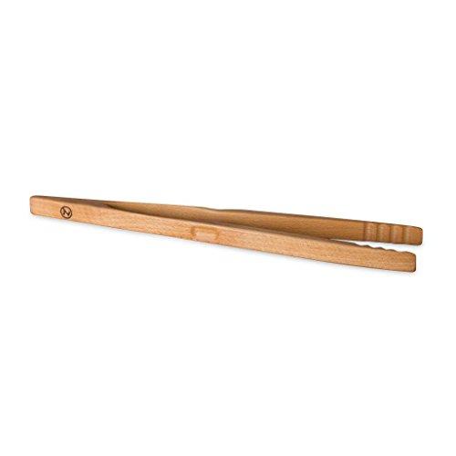 Grillzange Zetzsche 46 cm lang aus Buchen Holz, made in Germany