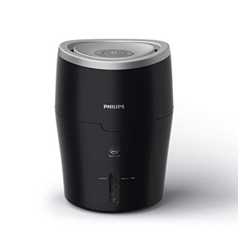 Philips Luftbefeuchter HU4814/10 (bis zu 40 m², hygienische NanoCloud-Technologie, leiser...