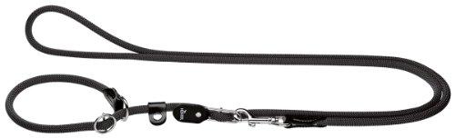 HUNTER Freestyle Retrieverleine, Tau, mit integrierter Halsung, robust, wetterfest, 1,0/260 cm,...