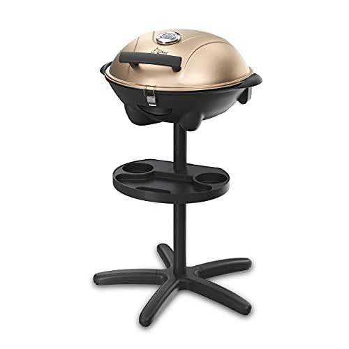 SUNTEC Elektrogrill BBQ-9479 auch als Tischgrill Geeignet   Grill mit Abnehmbarem Deckel und...