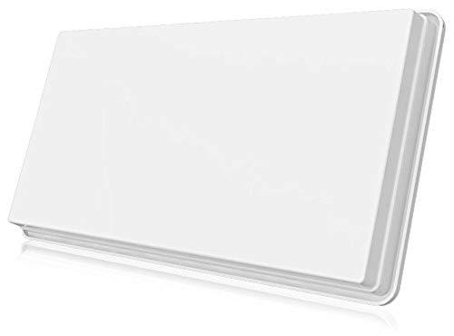 Selfsat H30D1+ Single Flachantenne für einen Teilnehmer inkl. Fensterhalterung