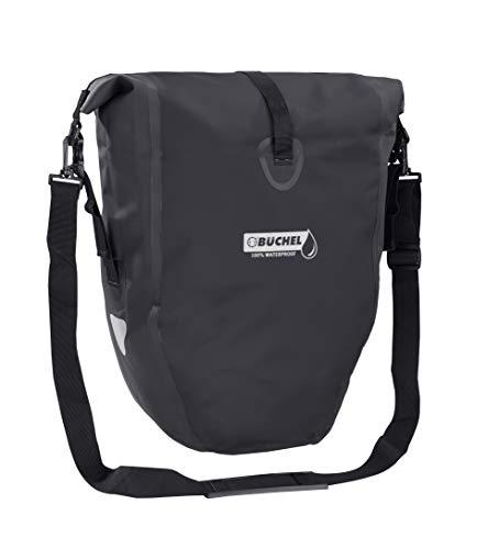 Büchel Fahrradtasche für Gepäckträger , 100 Prozent wasserdicht, verschiedene Farben, mit...