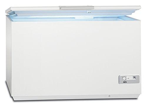 AEG AHB92631LW Gefriertruhe / 257 Liter Gefrierfach mit LowFrost / sparsame Kühltruhe der Klasse...