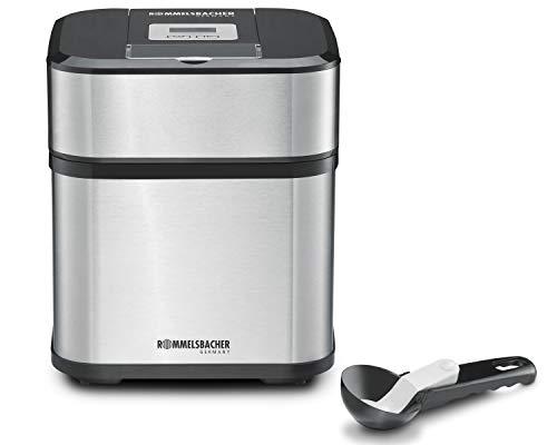 ROMMELSBACHER IM 12 Eismaschine 'Kurt' (4-in-1 für Speiseeis, Frozen Yogurt, Sorbet & Slush,...