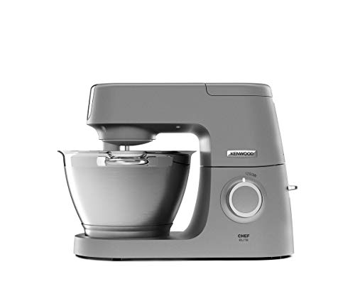 Kenwood Chef Elite KVC5320S Küchenmaschine, 4,6 l Edelstahl Rührschüssel,...