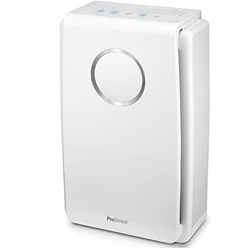 Luftreiniger von Pro Breeze mit True HEPA Luftfilter für Allergiker, Air Purifier für bis zu...