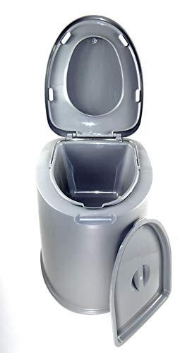 Sesua XL -Eimertoilette,Camping-Toilette,Nottoilette, chemietoilette toiletteneimer Sanitär Farbe...