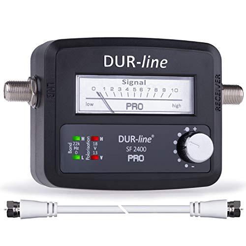DUR-line® SF 2400 Pro - Satfinder - NEU - Messgerät zum exakten Ausrichten Ihrer digitalen...