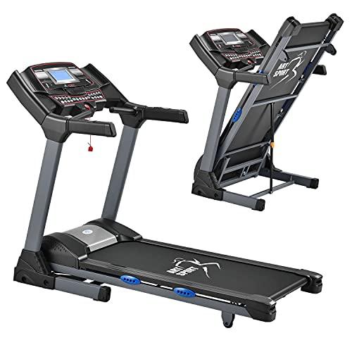 ArtSport Laufband Speedrunner 6000 klappbar - 22 km/h & 99 Programme, LCD Display – Heimtrainer...