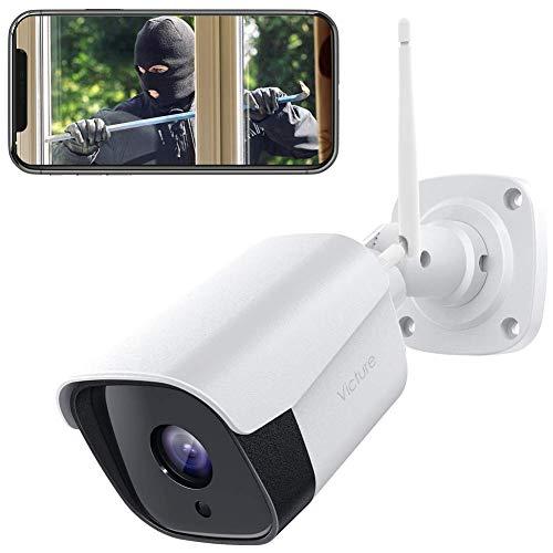 Victure 1080P Überwachungskamera Aussen WLAN IP Kamera wasserdichte Sicherheitskamera CCTV...