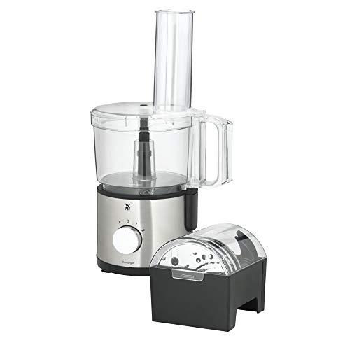 WMF Kult X Edition Küchenmaschine mit 5 Zubehör-Scheiben, Knetmesser, Stopfen, Edelstahl-Messer,...