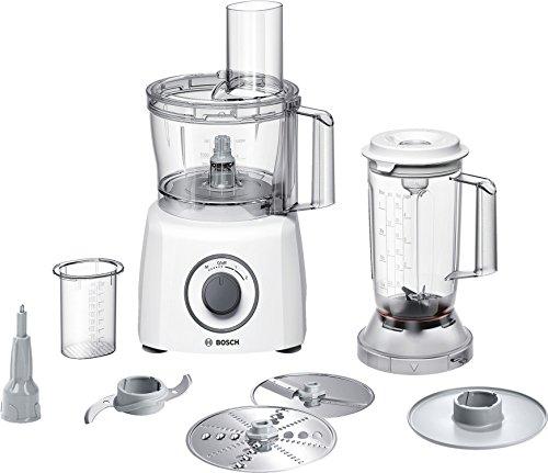 Bosch Kompakt-Küchenmaschine MultiTalent 3 MCM3200W, 30 Funktionen, Rührschüssel 2,3 L, Mixer 1,0...