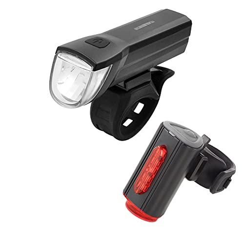 FISCHER USB Beleuchtungs-Set mit innovativer 360° Bodenleuchte für mehr Sichtbarkeit und Schutz  ...