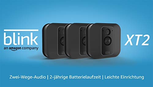 Blink XT2 (2. Gen.) – Smarte Sicherheitskamera | Für den Außen- und Innenbereich mit...