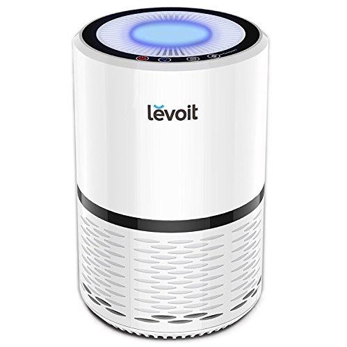Levoit Luftreiniger Air Purifier mit HEPA-Kombifilter & Aktivkohlefilter, 3-Stufen-Filterung für...