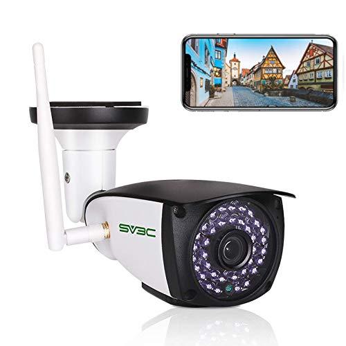 SV3C 5MP Überwachungskamera Aussen WLAN, Super HD WiFi IP Kamera für Außen mit Zwei-Wege-Audio,...