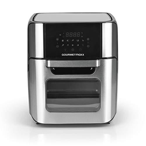 GOURTMETmaxx Digitale XXL Heißluftfritteuse 12 Liter | Frittieren ohne Fett, Zubehör ist...