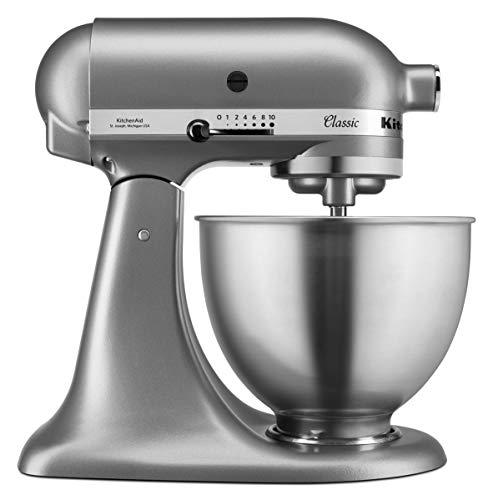 KitchenAid 5K45SSESL Küchenmaschine, silber