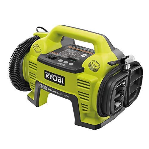 Ryobi Kompressor 18 V (Druckluftkompressor ohne Akku und Ladegerät, digitale Druckanzeige, inkl....