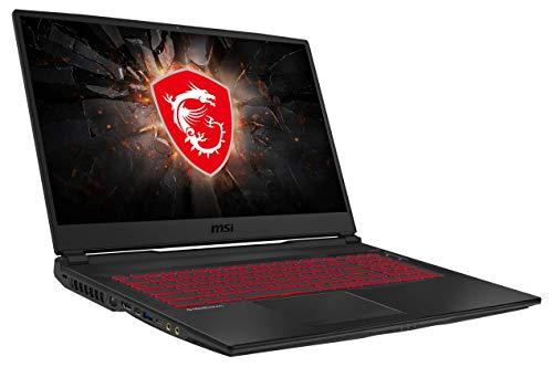 MSI GL75 10SDR-222 43,9 cm (17,3 Zoll/144Hz) Gaming-Laptop (Intel Core i7-10750H, 16GB RAM, 512GB...