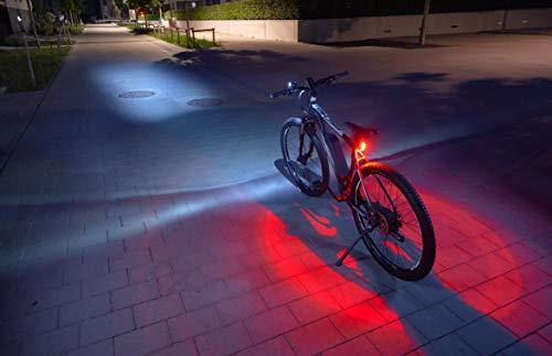 FISCHER USB Beleuchtungs-Set mit innovativer 360° Bodenleuchte für mehr Sichtbarkeit und Schutz |...