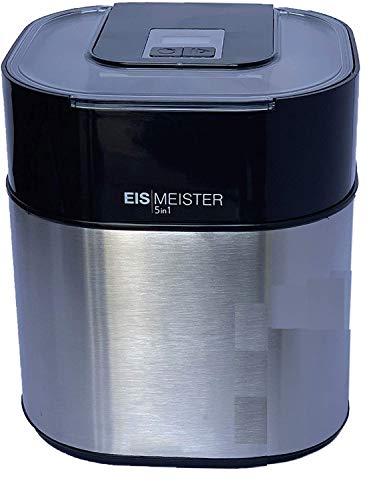 PerfectMix EISMEISTER Eismaschine Eis-creme zum selber machen,für 4 Personen,5in1 Machine -...