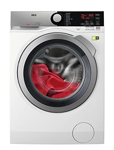 AEG L8FE74485 Waschmaschine / ProSteam - Auffrischfunktion / ÖKOMix - Faserschutz / 8,0 kg / Leise...