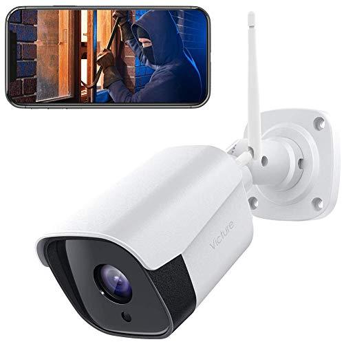 [2021 aktualisierte] Victure 1080P Metallgehäuse Überwachungskamera Aussen,2.4GHz WLAN IP Kamera...