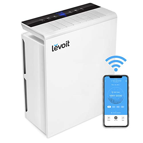 Levoit Luftreiniger H13 HEPA Filter für Allergiker, CADR 230m³/h bis zu 48㎡ Wohnung, Luftfilter...