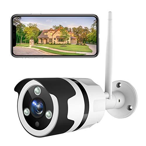 NETVUE Überwachungskamera Aussen, 1080P WLAN Kamera Outdoor IP66 wasserdicht Sicherheitskamera mit...