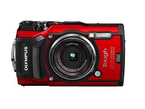 Olympus Tough TG-5 Digitalkamera (12 MP, 25-100mm 1:2,0 Objektiv, GPS, Manometer, Temperatursensor,...