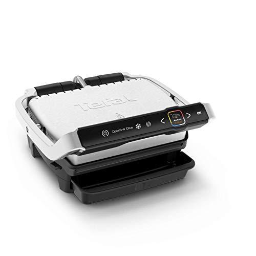 Tefal Optigrill Elite GC750D | Kontaktgrill | Elektrischer Indoor-Grill | 12 automatische...