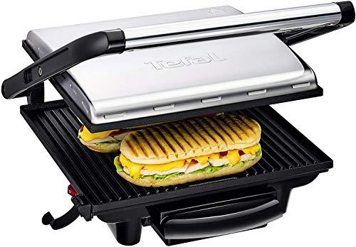 Tefal Kontaktgrill Inicio GC241D [Elektrogrill / Sandwichtoaster für Panini, Toasts, Steak,...