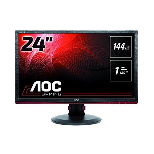 AOC G2460PF 61 cm (24 Zoll) Monitor (DVI, HDMI, USB Hub, Displayport, 1ms Reaktionszeit, 1920x1080,...