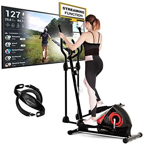 Sportstech CX608 Crosstrainer | Deutsches Qualitätsunternehmen | Ergometer + Video Events &...