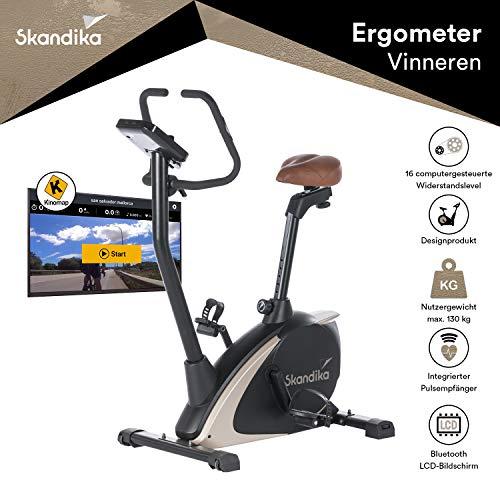 skandika Ergometer Design-Hometrainer Vinneren, Auswahl aus verschiedenen Sätteln,...