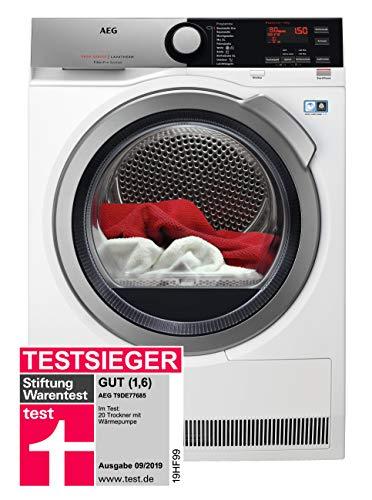 AEG T9DE77685 Wärmepumpentrockner / FiberPro – Trocknen ohne Vorsortieren / 8,0 kg / A+++ /...