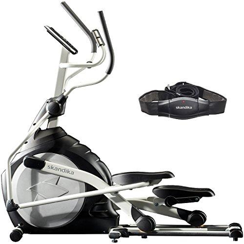 skandika Crosstrainer CardioCross Carbon Pro SF-3200, 23,5 kg Schwungmasse, wartungsarmes...