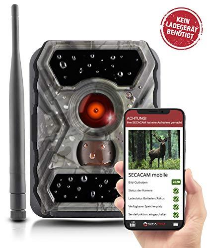 SECACAM Raptor Mobile - 3G Wildkamera mit SIM-Karte sendefähig (GPRS, GSM, UMTS / 3G) mit...