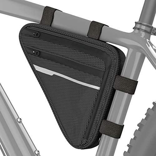 Velmia Fahrrad Dreiecktasche Wasserdicht - Fahrrad Rahmentasche, Triangeltasche ideal für...