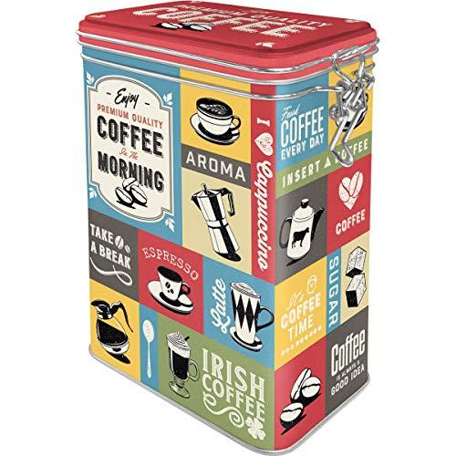 Nostalgic-Art 31115 Retro Kaffeedose Coffee Collage –...