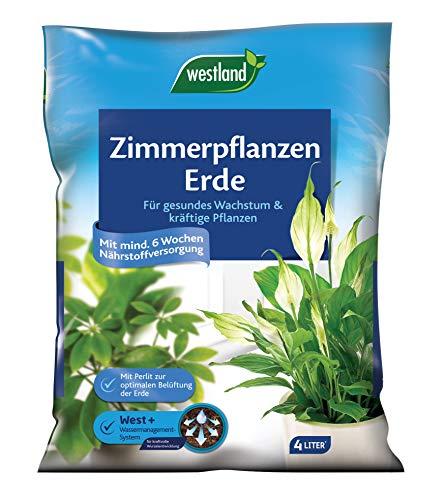 Westland Zimmerpflanzenerde, Blumenerde, 4 Liter, 733476