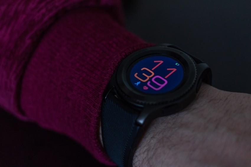Smartwatch mit Schlafueberwachung