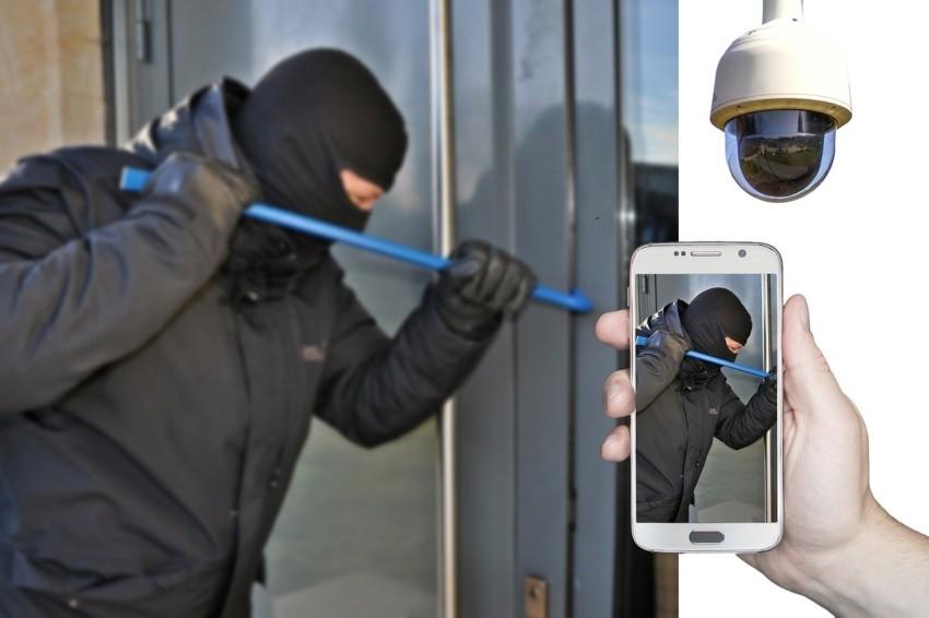 Bedienung Überwachungskamera