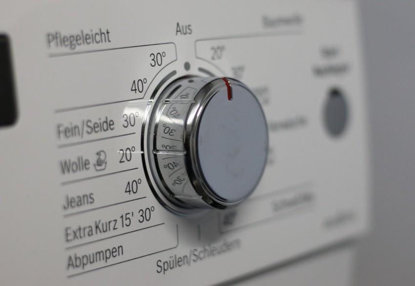 Bedienung einer Waschmaschine