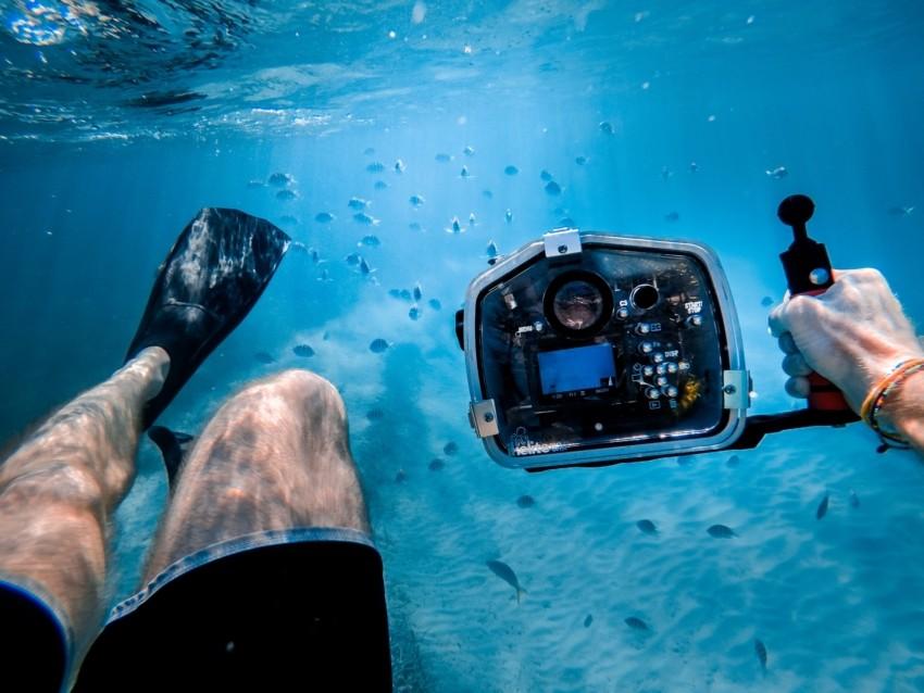 Die Auflösung einer Unterwasserkamera