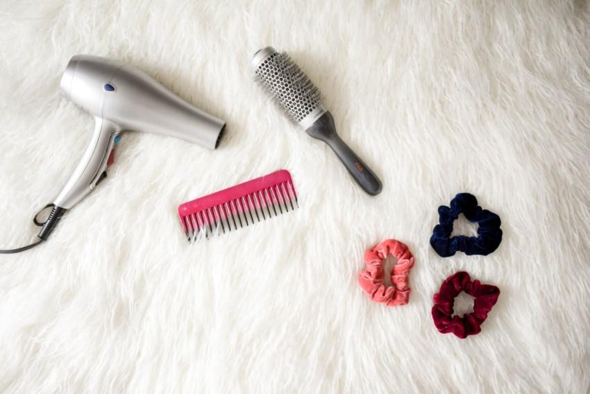 Haartrockner mit Zubehör