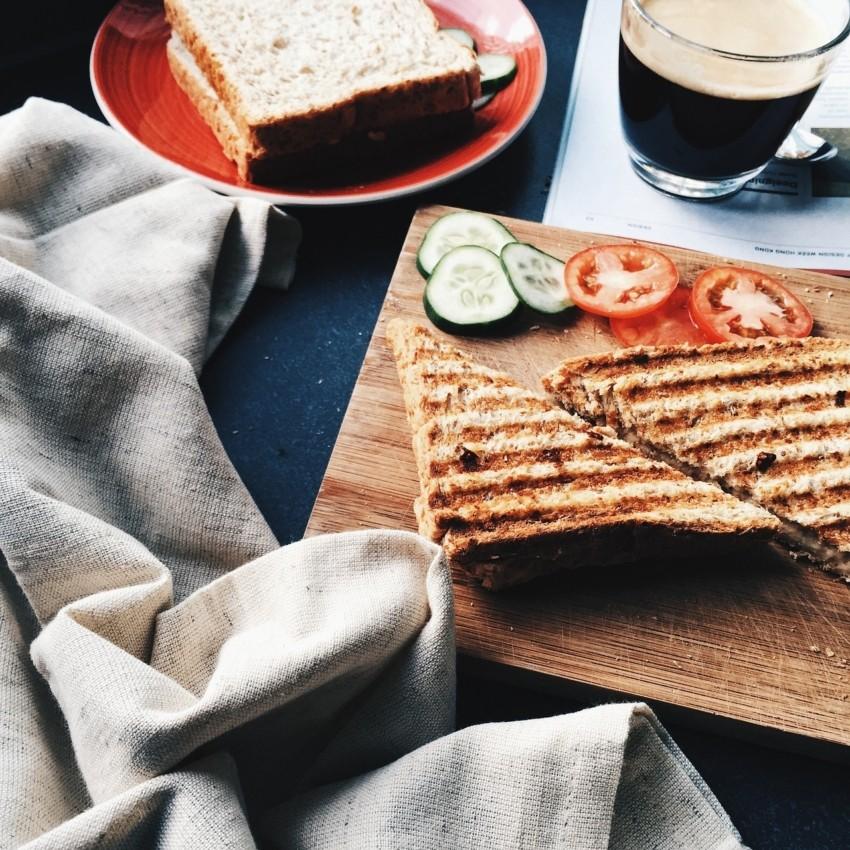 Leckere Rezepte eines Sandwichmakers