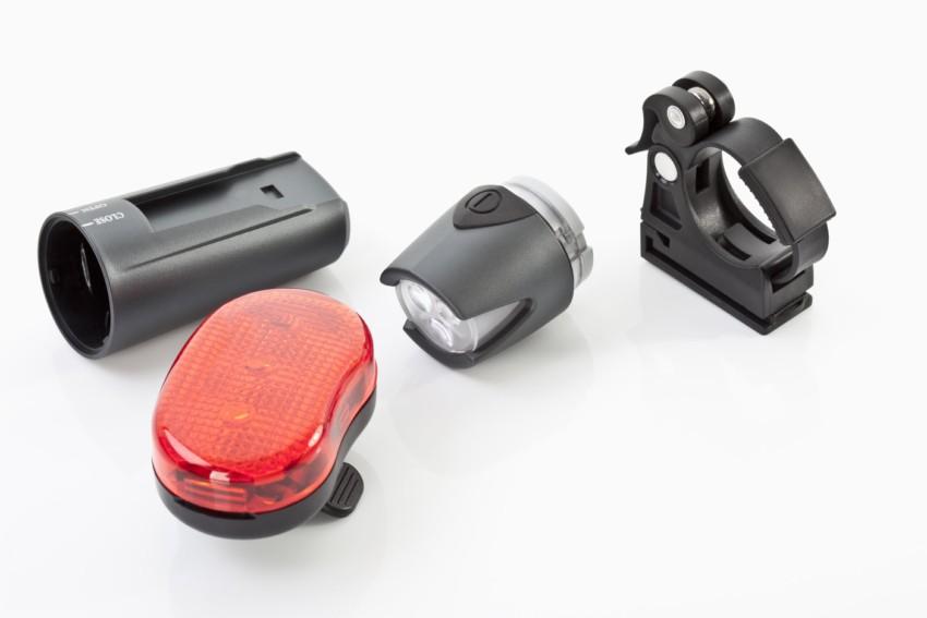 Der Test einer Fahrradbeleuchtung