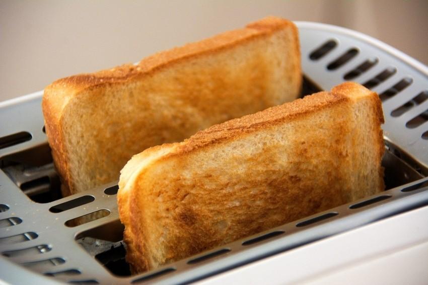Der Test eines Toasters
